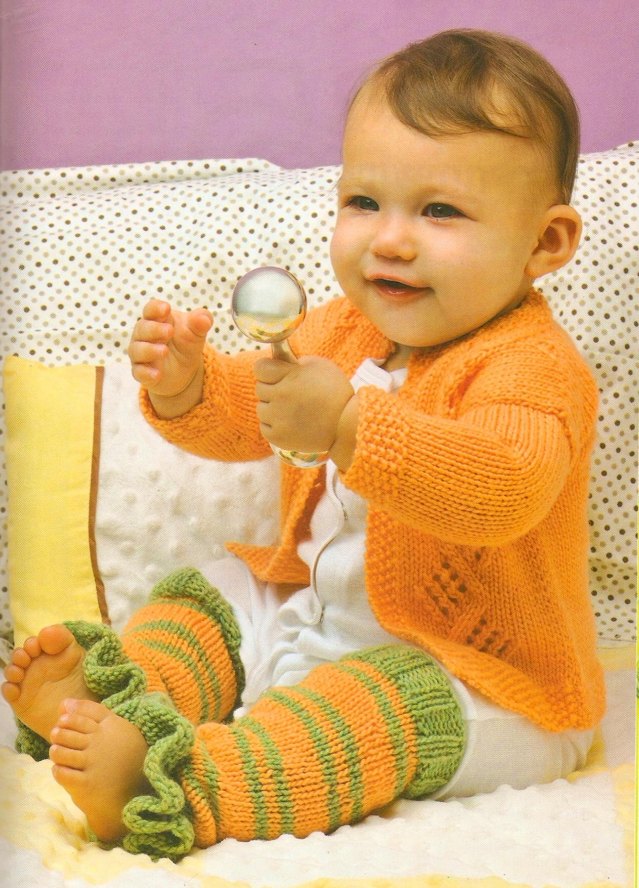 Ручные вязанья для детей 582