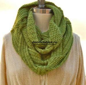 Как носить шарф стильным женщинам