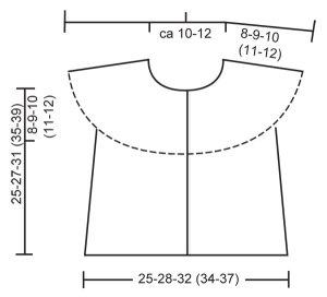 Схема по вязанию жилетки