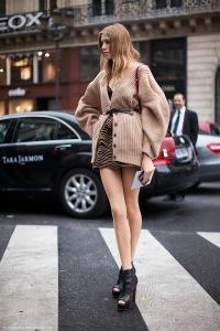 Модный жакет для женщин с большими рукавами