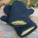 рукавицы двойные