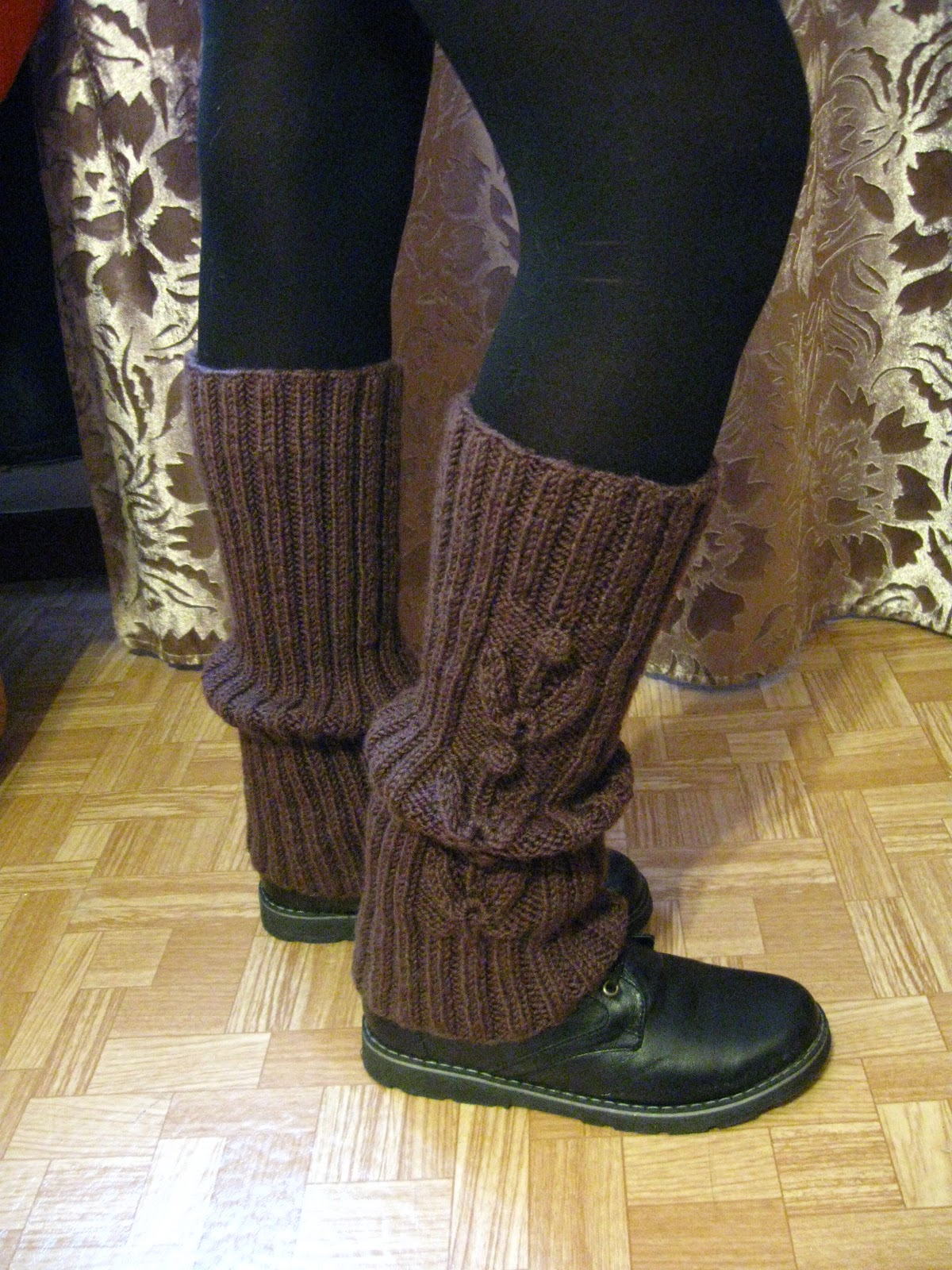 Как сделать наколенники из носков