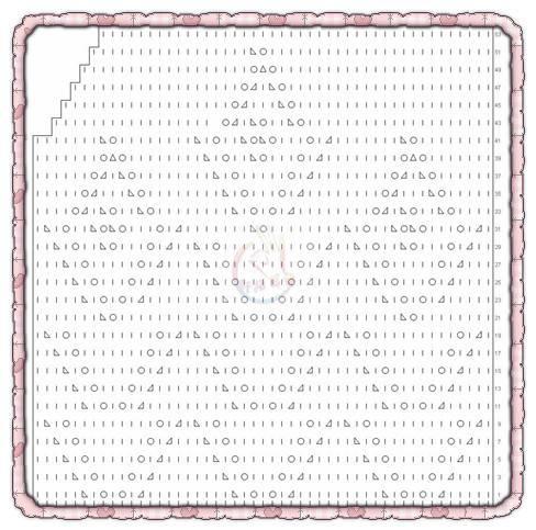 Схема вязания жилетки для мальчика спицами