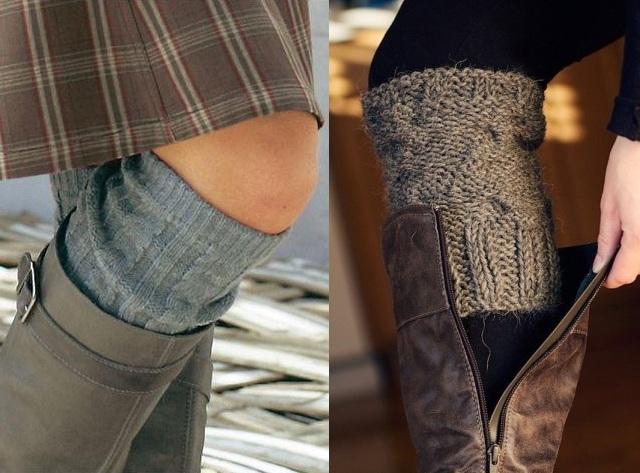 Носить гетры можно и нужно с сапогами