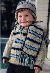 Стильный шарфик для мальчика