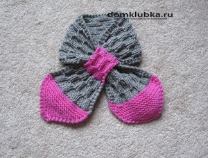 Детский шарф для девочки