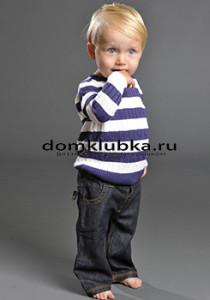 пуловер для мальчика до года