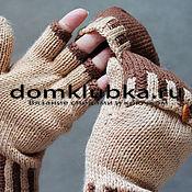 Модные перчатки без пальцев