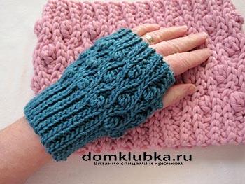 Узор резинка для перчатки