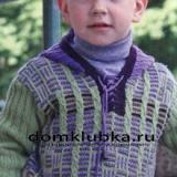 Кофточка с капюшоном для мальчика