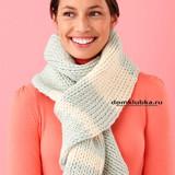 Модный повседневный шарф