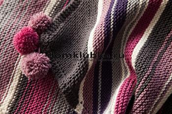 Разноцветное одеяло для новорождённого