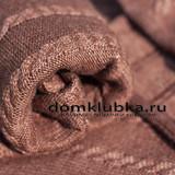 Вязанный плед - тепло и уютно