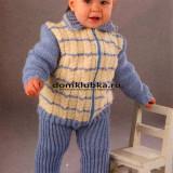 Вязанный костюм для мальчика