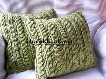 Квадратный чехол для подушки