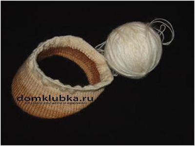 Процесс вязания кепки №4