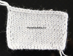 Вязание чулочной вязки