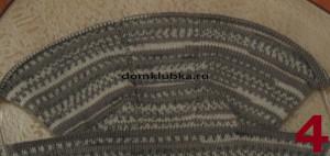 Вязание капюшона платочной вязкой