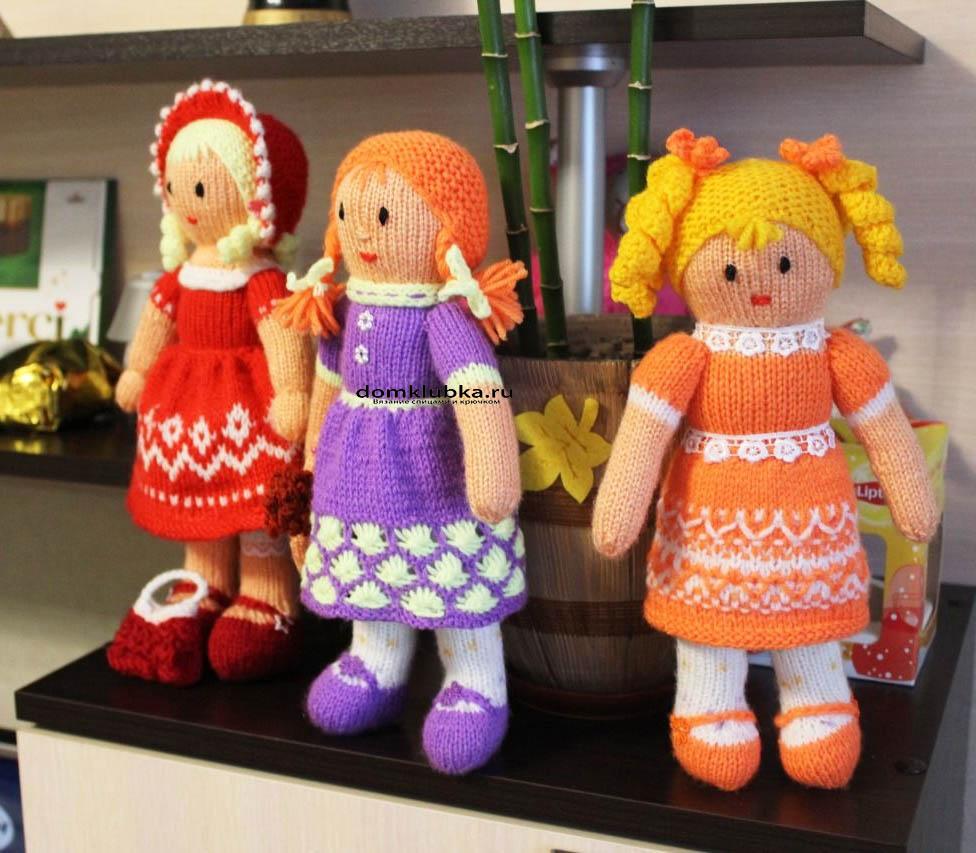 Вязание куклам новинки