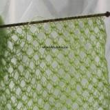зелёная вязаная сетка