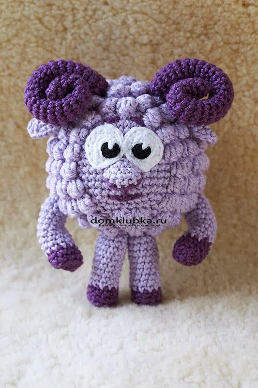 Красивый фиолетовый бараш