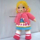 вязаная куклв для девочки