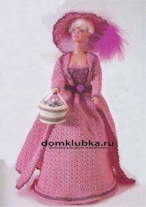 красивое платье для барби