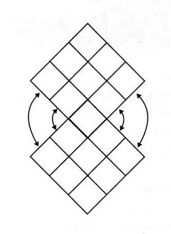 Пончо связанное крючком из квадратов
