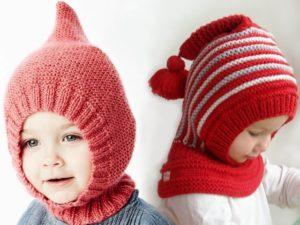 Вяжем сами спицами шапку шлем