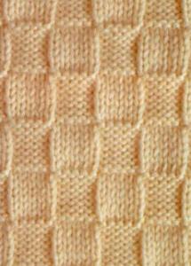 Узор для вязания, клетка 5*5