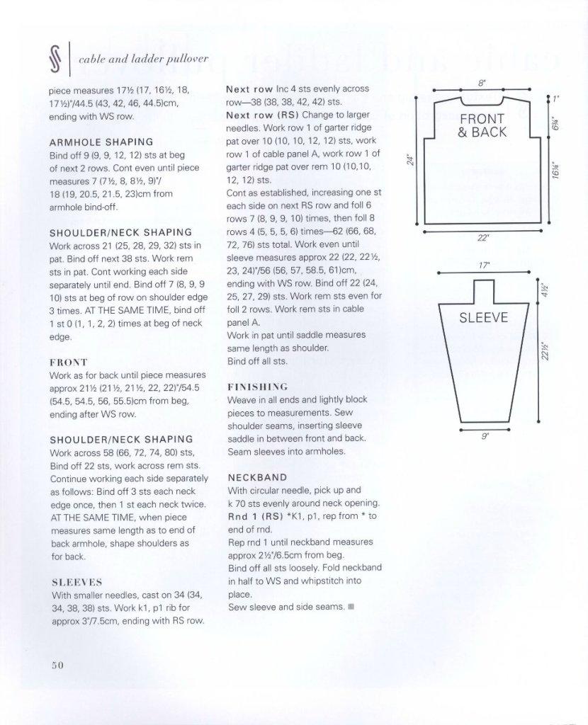 Схема, описание, инструкция по вязанию мужского пуловера спицами