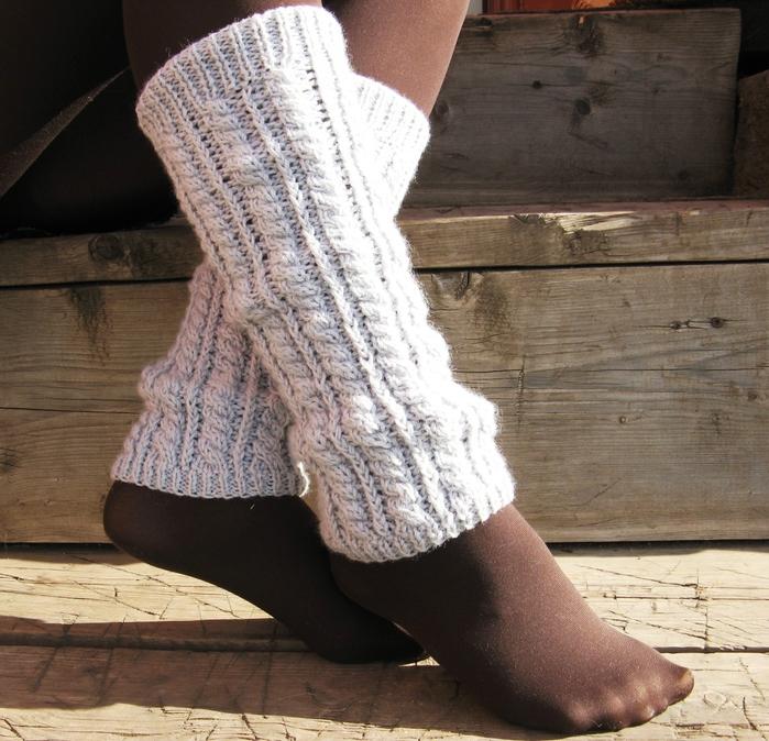 Вязание спицами для ног 65