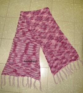 шарф прост в вязании для начинающих