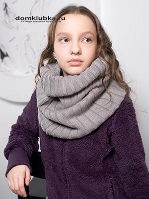 Оригинальный шарф хомут
