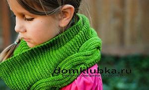 Модный детский шарфик