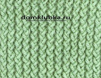 """Пышная резинка для вязания шарфа """"хлебный колос"""""""