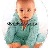 Вязаные костюмчики для новорожденных мальчиков