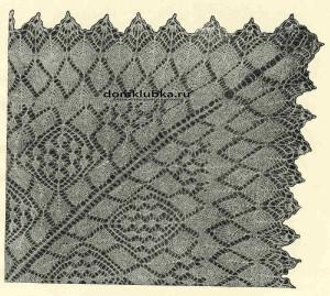 Вариант небольшой скатерти №3