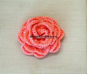 Аксессуар коралловая роза