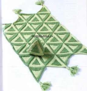 Одеяло с треугольникамиВ