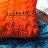 Цветные чехлы для подушек