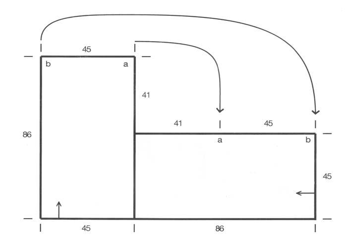 Схема для вязания классической накидки
