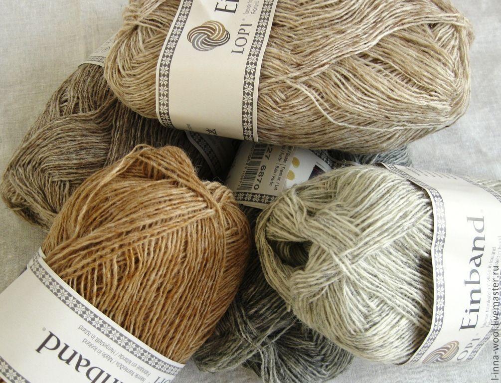 Пряжа для вязания из шерсти