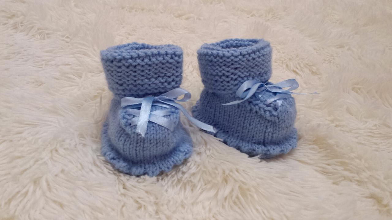 Пинетки для новорожденных