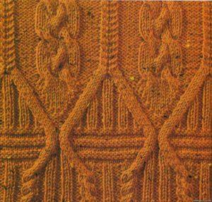Классный каталог с узорами для вязания спицами