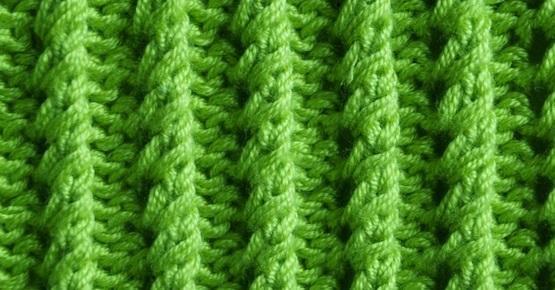 Канадская резинка – легкий способ вязания модных вещей: видео в статье