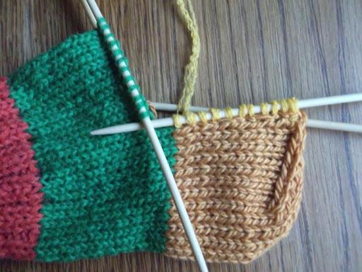 Вяжем пятку: простые способы вывязывания пятки классическим и бумеранг способом